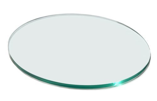 Rosseto 20-inch Round Tempered Glass By Rosseto