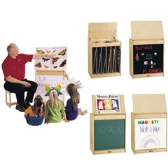 Buy Jonti-Craft 0543JCMG BIG BOOK EASEL – MAGNETIC WRITE-n-WIPE