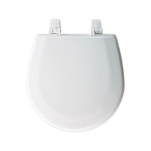 "Marine Boat RV Compact White Toilet Seat Jabsco Wilcox Raritan Groco 13"" x 13"" PN 29097-1000"