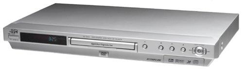 Jvc Xv-N44Sl Progressive-Scan Dvd Player , Silver
