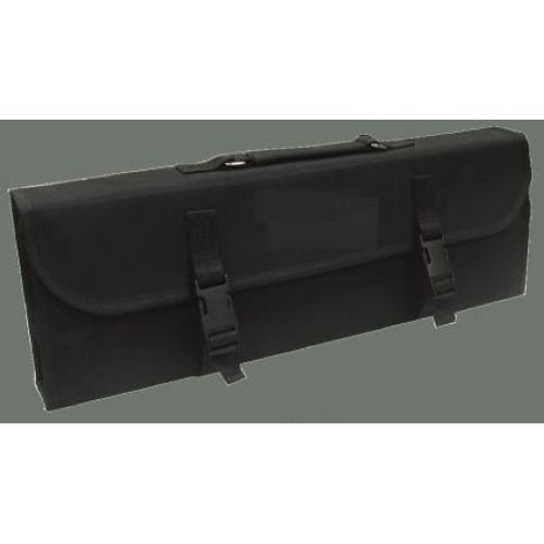 Winco 10 Compartment Knife Bag, Black
