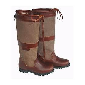 Brown Welligogs Sloane Waterproof Leather Boot