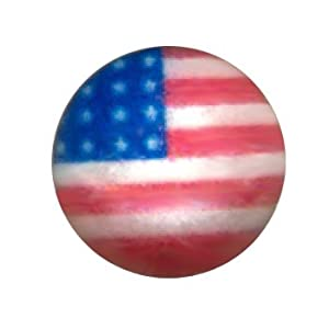 One American Flag Stud Earring- .925 Sterling Silver Cartilage Stud-20 gauge Earring