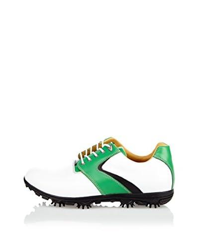 Wojas Scarpa Sportiva Golf Shoes [Bianco/Verde]