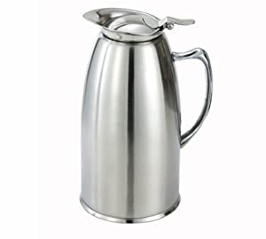 Winco Satin Finished Stainless Steel Lined Coffee Pot, 20 Ounce -- 1 each. by Winco