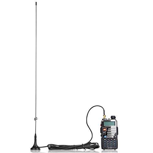"""Nagoya UT-108UV Radio Antenna, SMA Female 15.6"""" Whip High Gain VHF/UHF (144/430 Mhz)"""