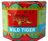 Wild Tiger Balm 18g Each (Pack of 3)