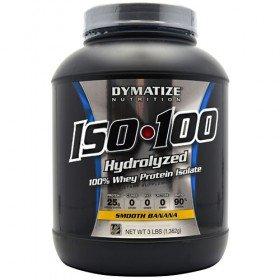 Dymatize Iso-100 Smooth Banana 3Lbs (1362G)