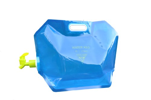 Seattle Sports Blu-030602 Aquasto Water Carrier, 8-Liter, Blue front-458828