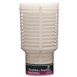 TimeMist 676122TM TimeWick Country Garden NonMetered Air Freshener Refill (Case of 6)