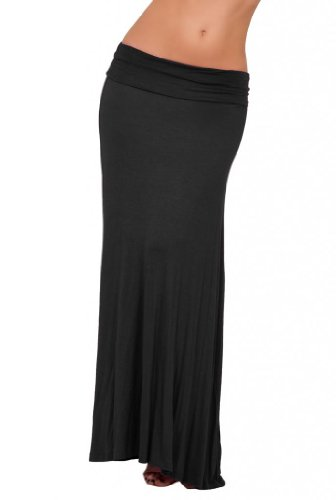 Fitted Maxi Skirt front-1053140
