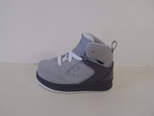 Nike Air Jordan Sixty Club Wolf Grey/ Dark Grey New Toddlers Sz 7.5C front-1051084