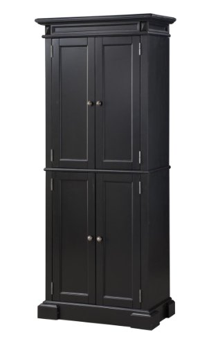 Black friday home styles 5004 694 americana pantry storage - Black kitchen storage cabinet ...