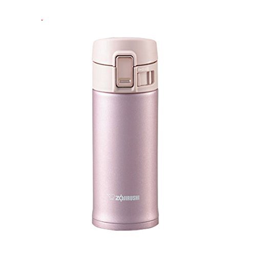 Zojirushi SM-KA36PT 12-Ounce/0.36-Liter Stainless Mug, Lavender/Pink (Zojirushi Mug Lavender compare prices)