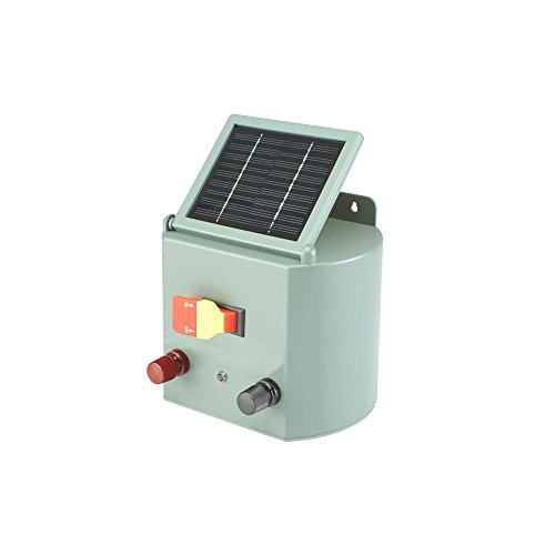 NEW Solar Powered Electric Fence Charger Farm Horses & Cattle Adjustable Control (Halloween Lancaster Pa)