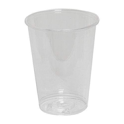 Dixie CC7 Plastic Cup, 7oz, Clear (Case of 20 Sleeves, 50 Cups per Sleeve)
