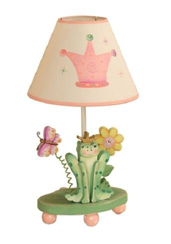Teamson Kids Princess And Frog Room Collection Girls Table Lamp front-482074