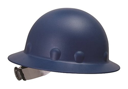 Fibre Metal P1 Roughneck Full Brim Injection Molded Fiberglass Hard Hat with Ratchet Suspension, Blue (Hard Hat Honeywell compare prices)