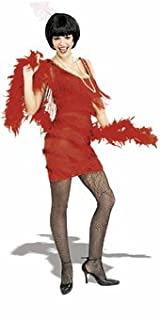Adult Roarin Red Flapper Dress