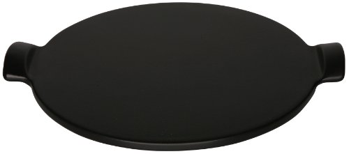 Emile Henry Flame Top Pizza Stone, Black