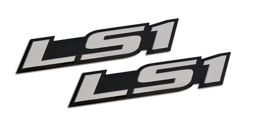 2 x (pair/set) LS1 Embossed SILVER on Black Highly Polished Silver Real Aluminum Auto Emblem Badge Nameplate for Chevrolet Chevy Corvette C5 Camaro Z28 SS Pontiac Firebird Formula Trans Am GTO Holden Special Vehicles Clubsport R8 SE VT VX Y Series Grange GTS Maloo R8 Senator Signature 300 Coupe LE Coupe4 AWD GTO GTS SV300 Avalanche XUV AWD Monaro Elfin MS8 Streamliner Clubman 98 99 00 01 02 03 04 05 06 07 08 09 10 11 12 13 1998 1999 2000 2001 2002 2003 2004 2005 2006 2007 2008 2009 2010 2011 2012 2013 (Trans Am Door Panels compare prices)