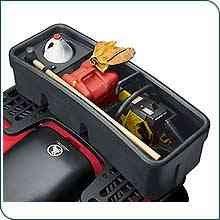 New Genuine Polaris ATV Accessories / Lock and Ride Rear Chainsaw Box - 2005-08 Sportsman / Black / pt # 2875758