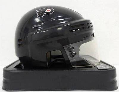 Bill Barber Philadelphia Flyers Signed Black Mini Hockey Helmet SI - Autographed NHL Helmets and Masks at Amazon.com