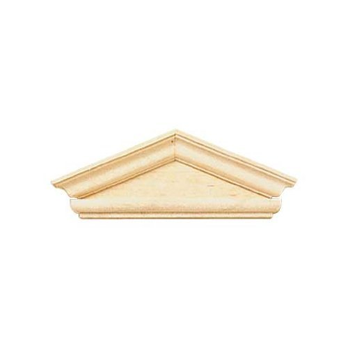 Dollhouse Miniature Federal-Style Hooded Pediment - 1