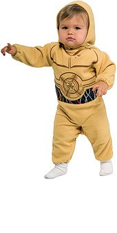 Star Wars tm C-3PO tm Romper Costume & Headpiece for age 1-2 years
