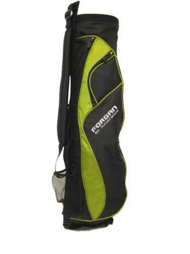 Forgan Green & Black Ultra Light Golf Carry Bag NEW