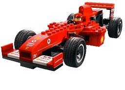 LEGO Racers 8362: Ferrari F1 Racer 1:24