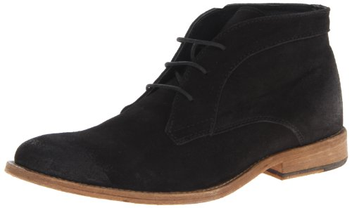 JD Fisk Men's Krakow Chukka, Black, 13 M US
