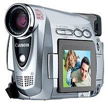 Canon ZR300 MiniDV Camcorder w/22x Optical Zoom (High Metal)