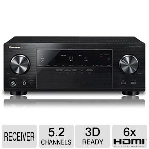 Click to buy Pioneer VSX-824 5.2-Channel Network A/V Receiver (Black) - From only $1715.98