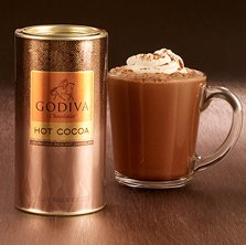 Milk Chocolate Cocoa Canister