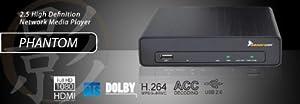 Hornettek Phantom MP-2020 1080P HDMI 2.5-Inch HDD Media Player