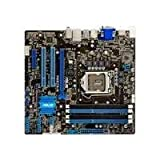 ASUSTek Intel Socket 1155 DDR3メモリ対応 M-ATXマザーボード P8B75-M