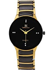 VILAM IIK013M Round Gold Shaped Analog Watch - For Men