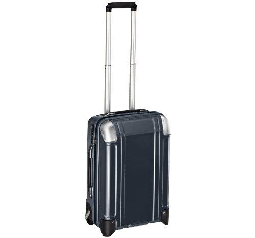 Zero-Halliburton-Geo-Polycarbonate-Carry-On-2-Wheel-Travel-Case-Gunmetal-One-Size