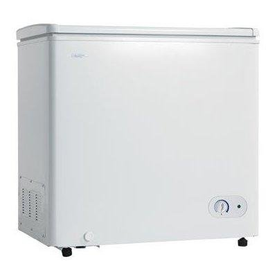 Danby DCF550W1 5.5 Cubic Foot Chest Freezer With Vinyl Coated Basket