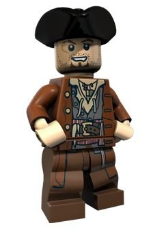 Lego Pirates of the Caribbean Minifigure- Scrum - 1