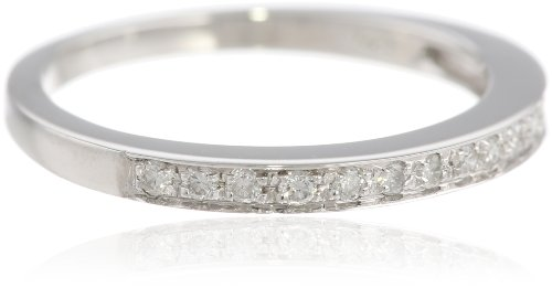 14k White Gold Diamond Ring (1/5 cttw, I-J Color, I1-I2 Clarity), Size 7