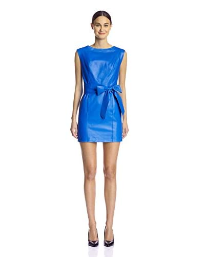 Susana Monaco Women's Blonde Leather Dress