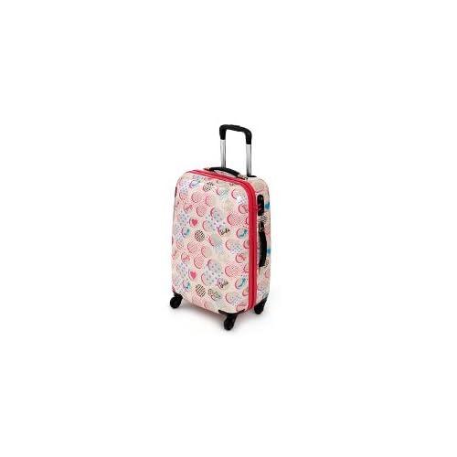 スーツケース キャリー ハード 旅行かばんバービー Barbie 45L [リアーナTR] 05867 2.ピンク