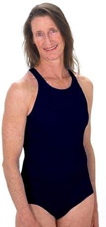 Penbrooke Women's Chlorine Resistant Krinkle High Neck Swimsuit