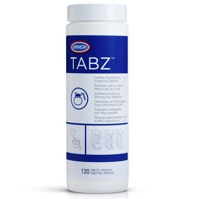 Urnex TABZ Coffee equipment Machine Cleaner Cleaning Tablets 120 Tabz