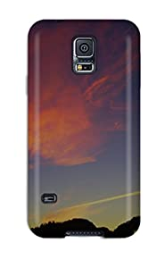 Algarve Sunrise Clouds Earth Sky Nature Sky Case Cover For Galaxy S5