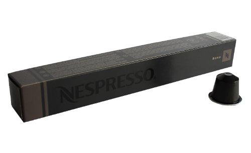 nespresso kapseln grau schwarz 10 kaffeekapseln 1 x 10 kapseln roma espresso. Black Bedroom Furniture Sets. Home Design Ideas