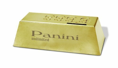 Gold Plated Gold Ingot Coin Bank - 1