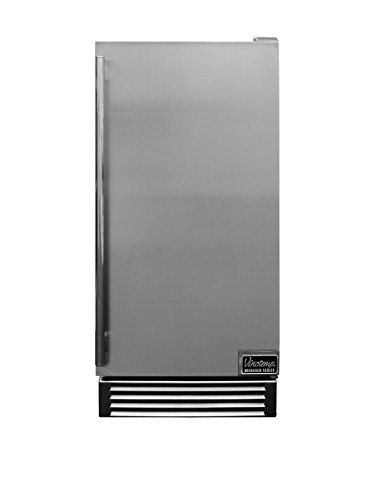 Vinotemp Designer Series Outdoor Automatic Ice Maker, Stainless Steel